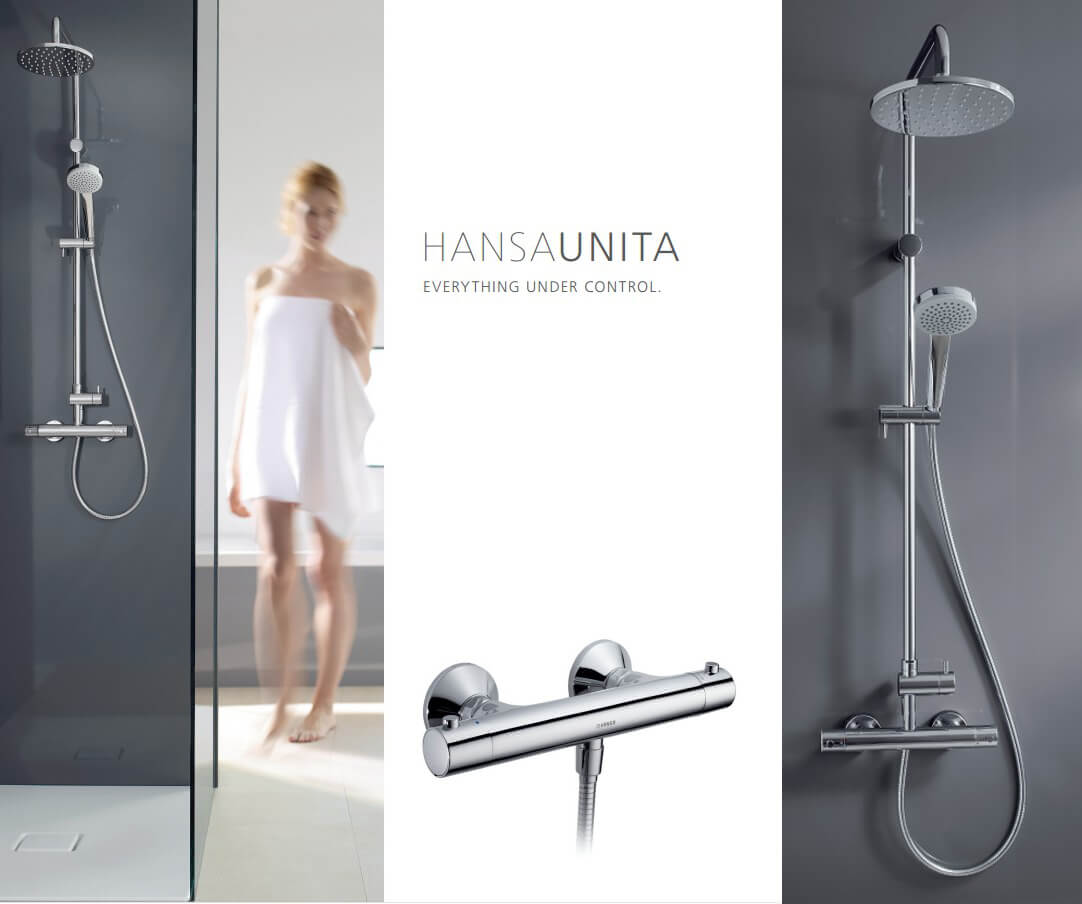 Hansa Unita 58149103 shower set
