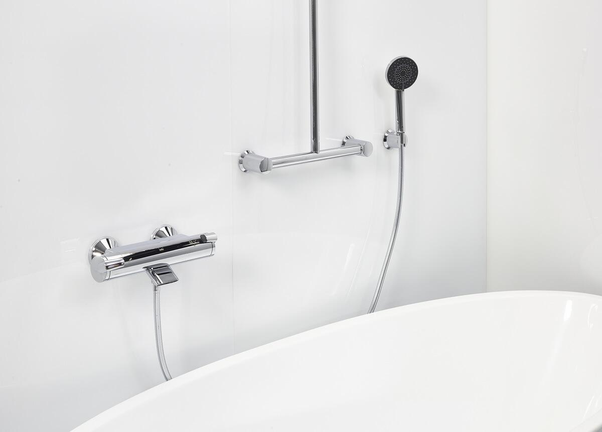 Oras Optima 7140U wannowa termosatyczna z prysznicem i drążkiem