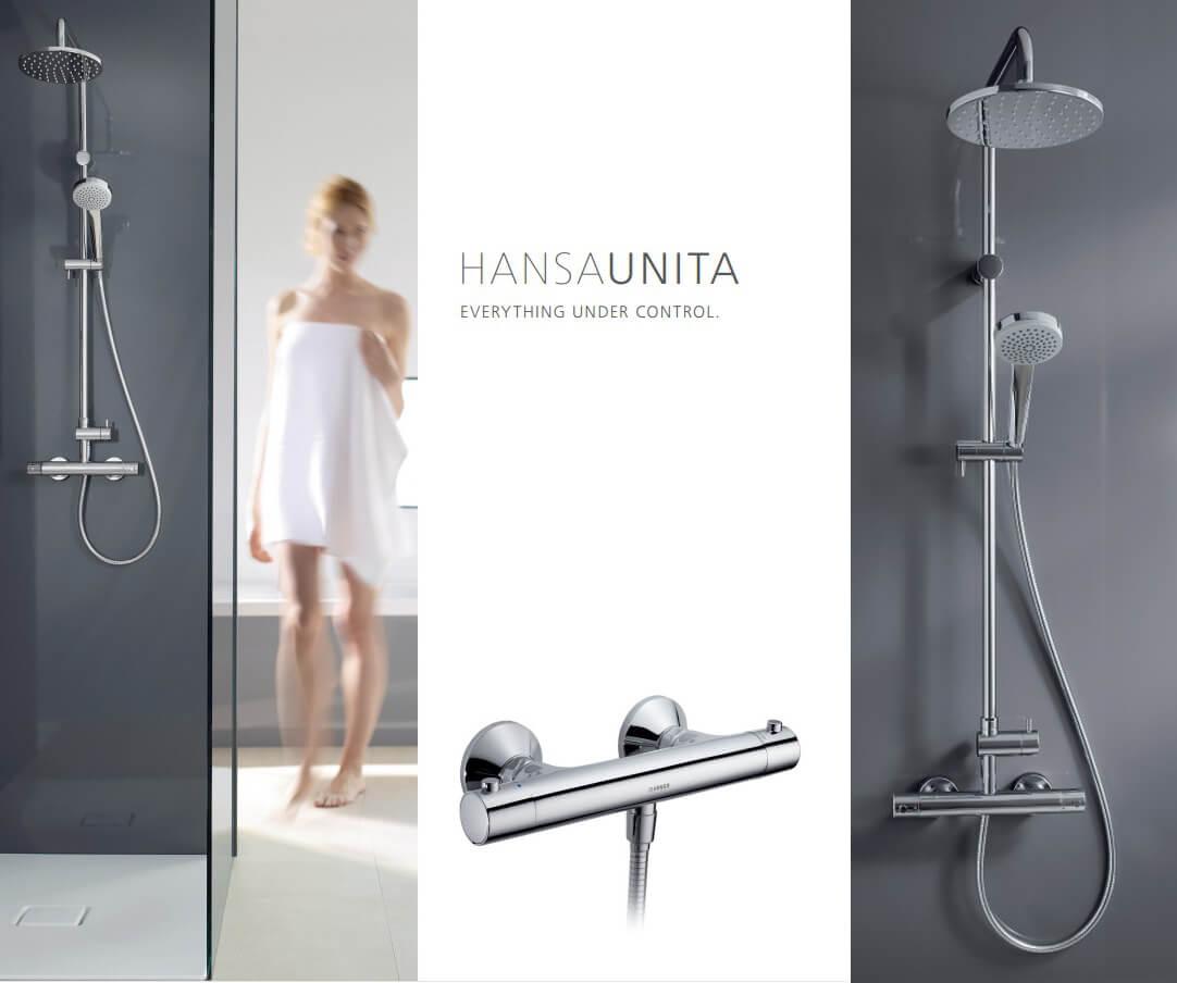 Hansa Unita 58149103 shower set