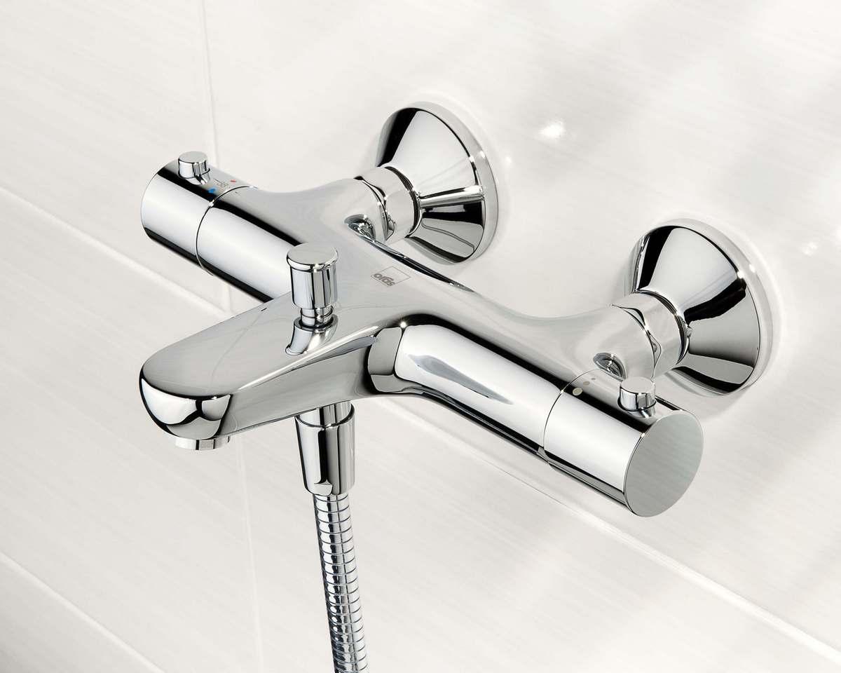 Zestaw prysznicowy Oras Safira 1348U - bateria Oras termostatyczna