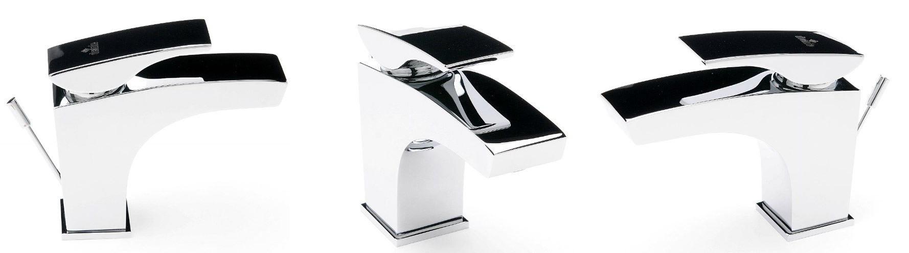 Bateria umywalkowa Deante Minimal widoki